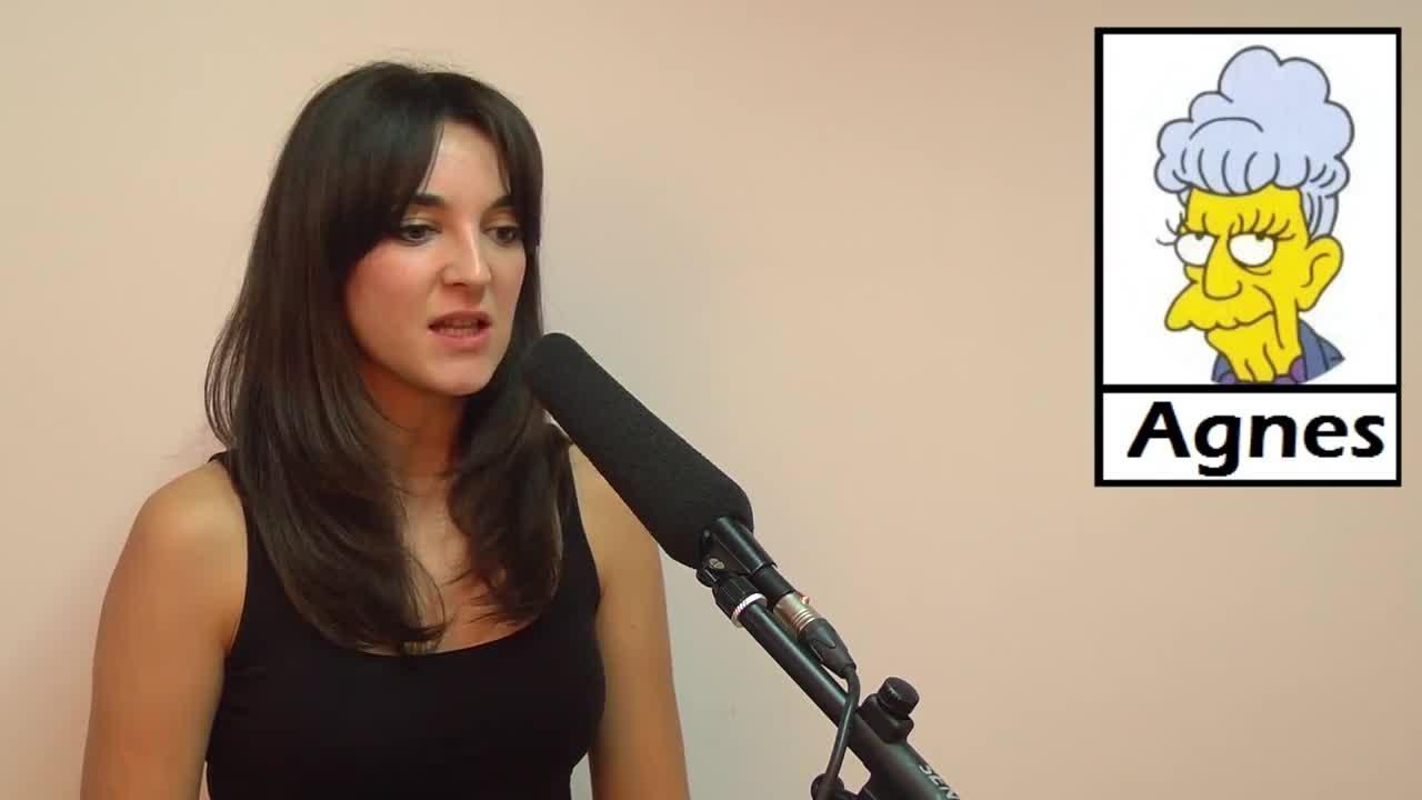 Leonor Lavado agnes simpsons