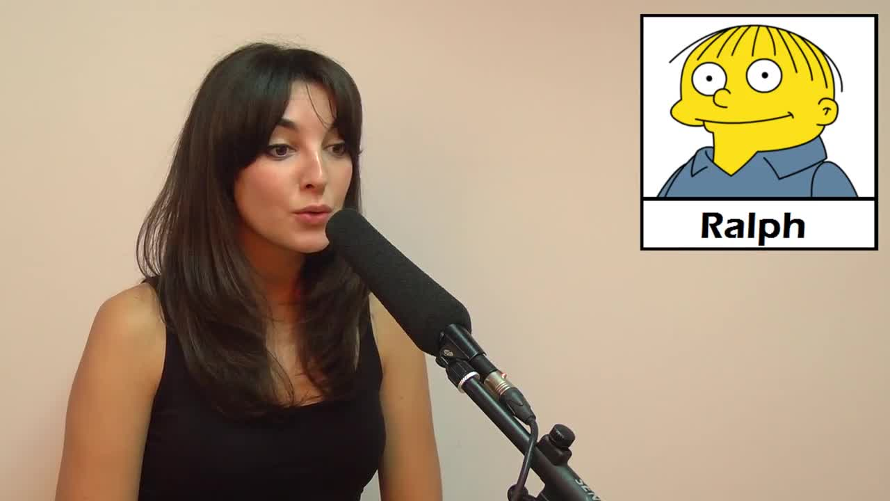Leonor Lavado ralph simpsons