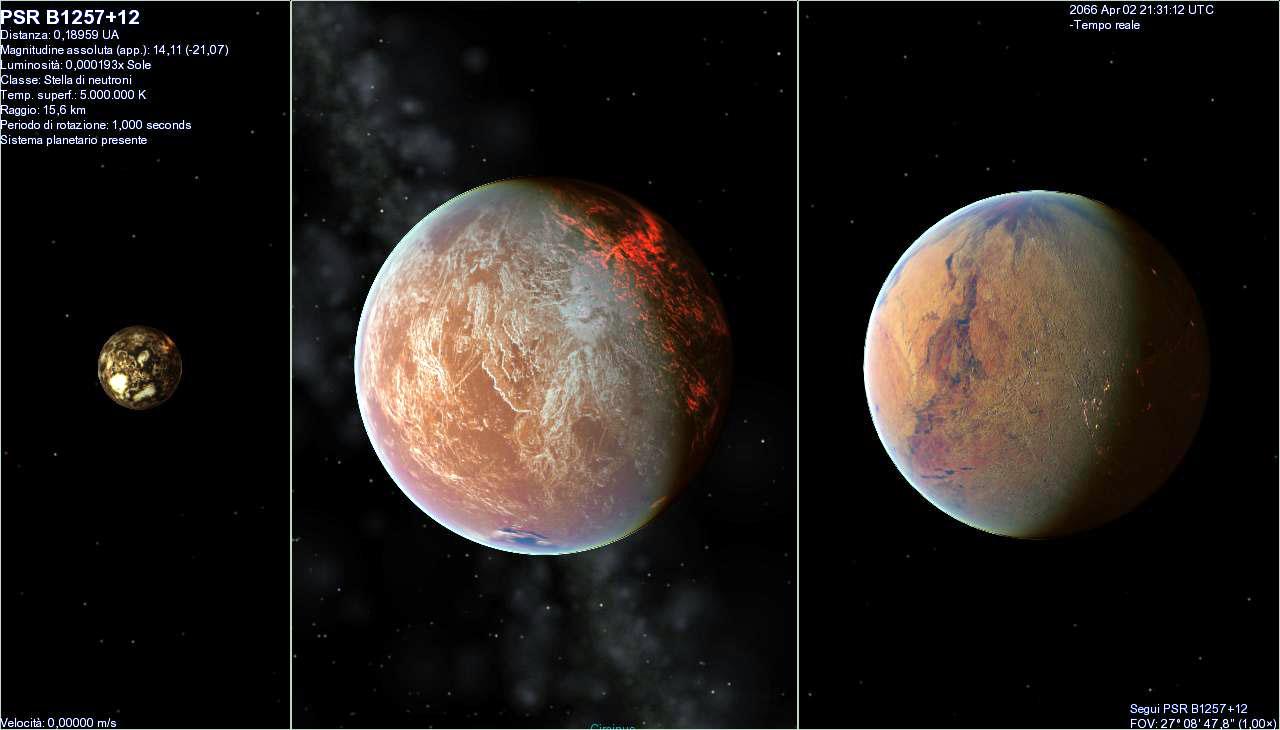 PSR B1257 12 planetas b c d