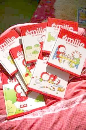 emilie emily libros ilustraciones