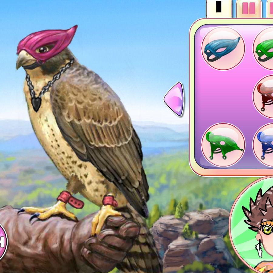 juego vestir halcon