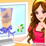 Juego de comprar flores