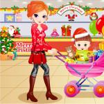 Juego de comprar ropa en Navidad