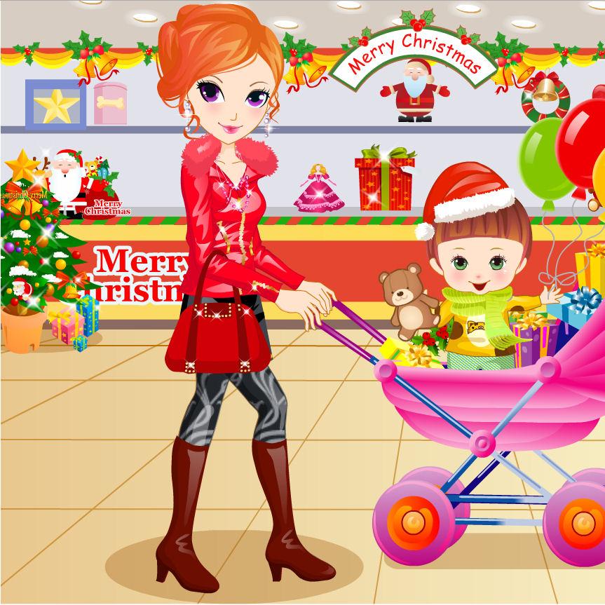 juego comprar regalos navidad