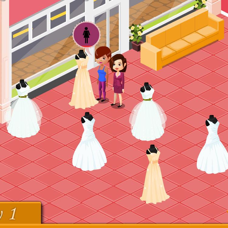 juego comprar ropa novia