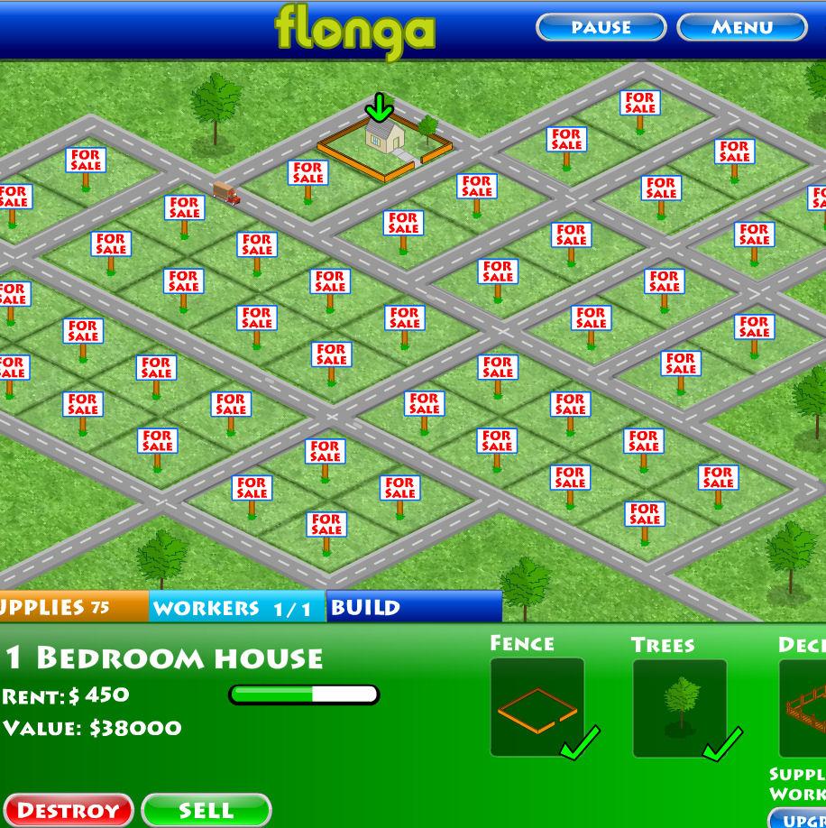 juego comprar terreno