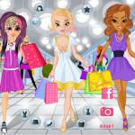Juego de comprar en tiendas de moda