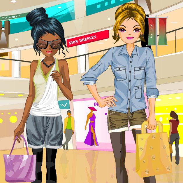 juego compras tiendas moda