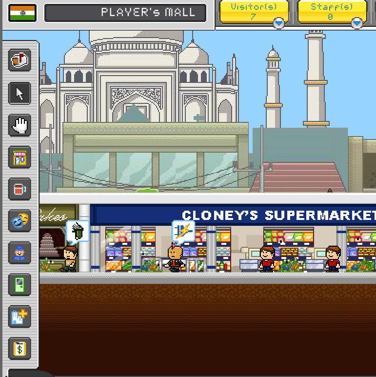 juego construccion centro comercial
