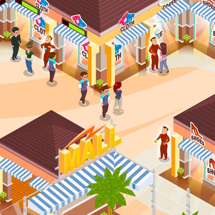 juego contruir tiendas