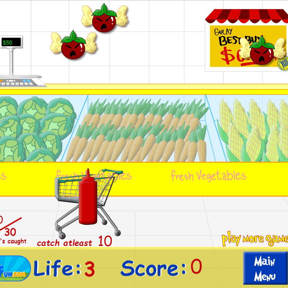 juego disparar tomates
