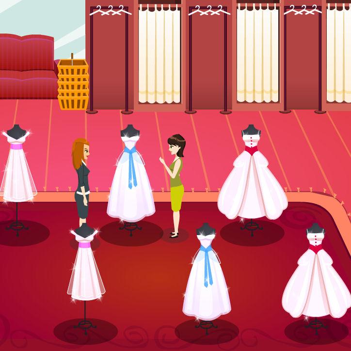 juegos vestidos novias