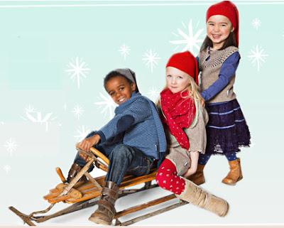 ropa nino navidad