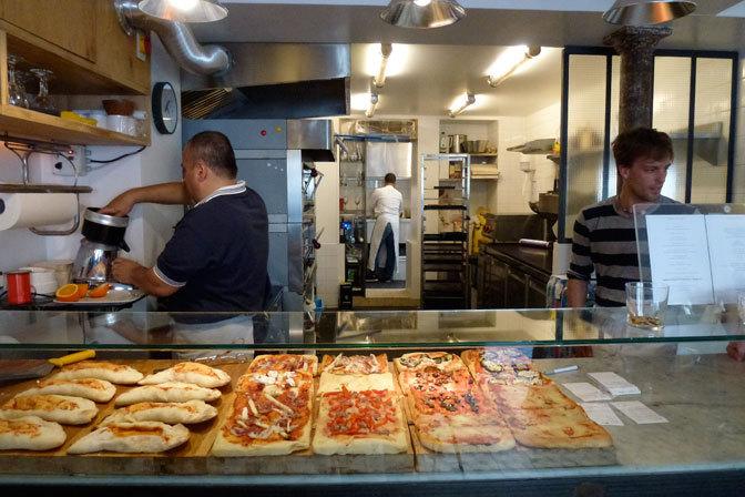 vendedor pizza