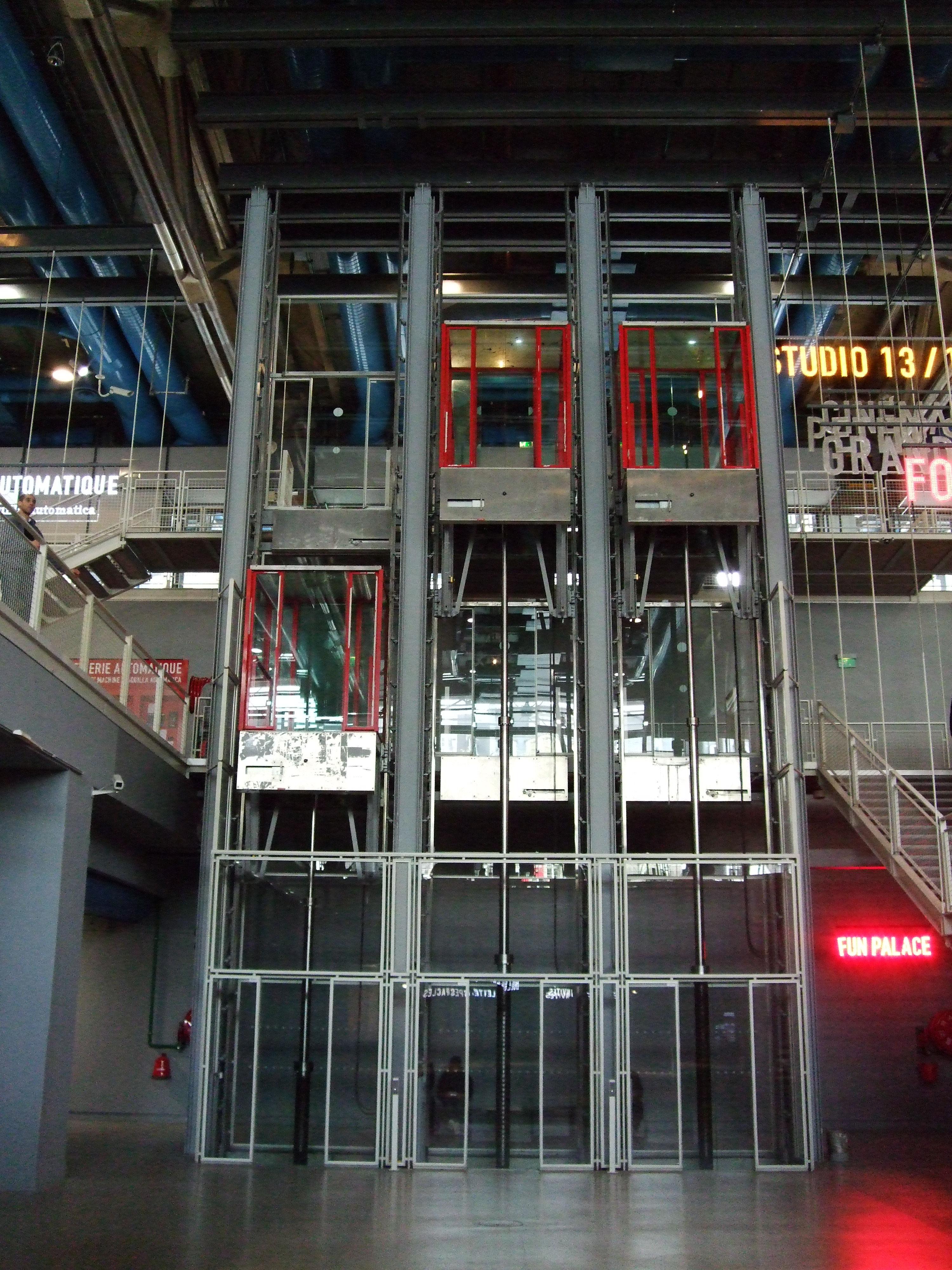 ascensores modernos