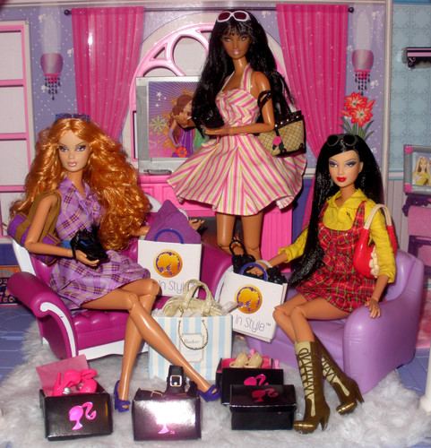 barbie comprando
