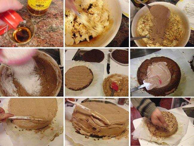 cocinar pastel