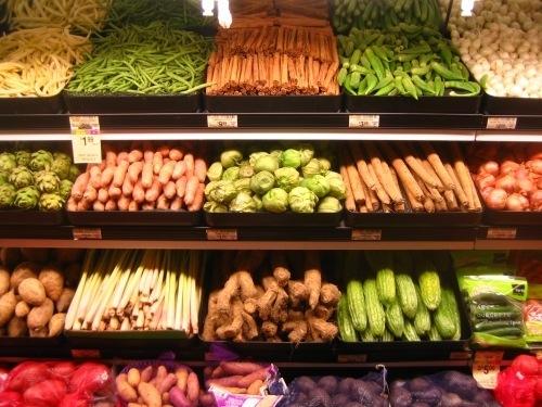 compras verduras