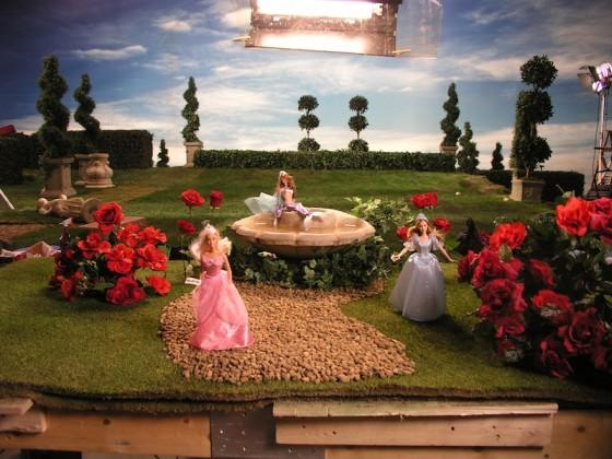 jardin barbie