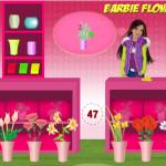 Juego de comprar flores con Barbie