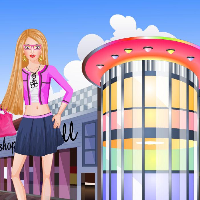 juego barbie tiendas