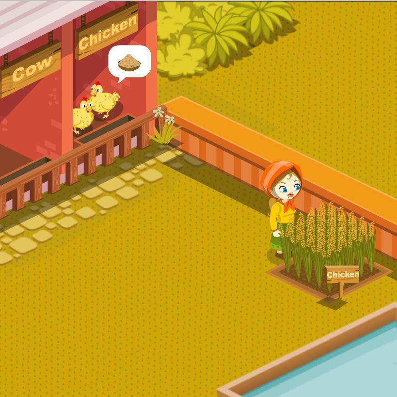 juego comprar comida granja