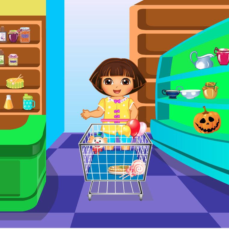 Juego de comprar juguetes en la tienda