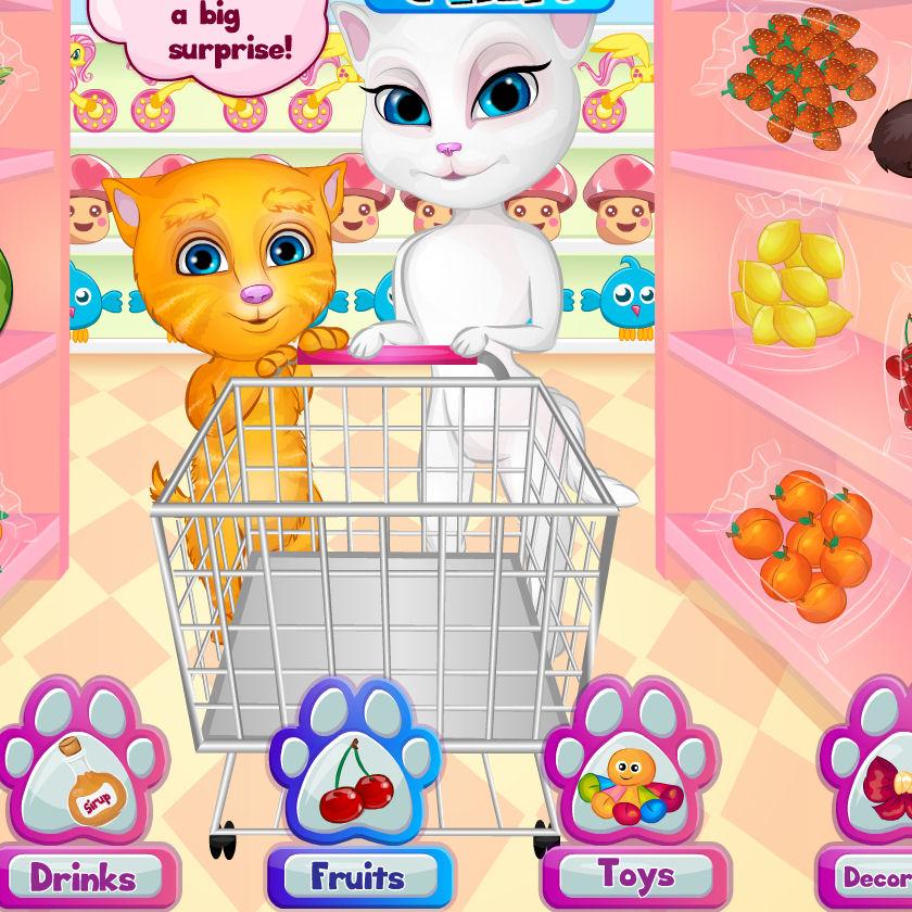 juego comprar fiesta gatos