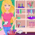 Juego de comprar con Barbie