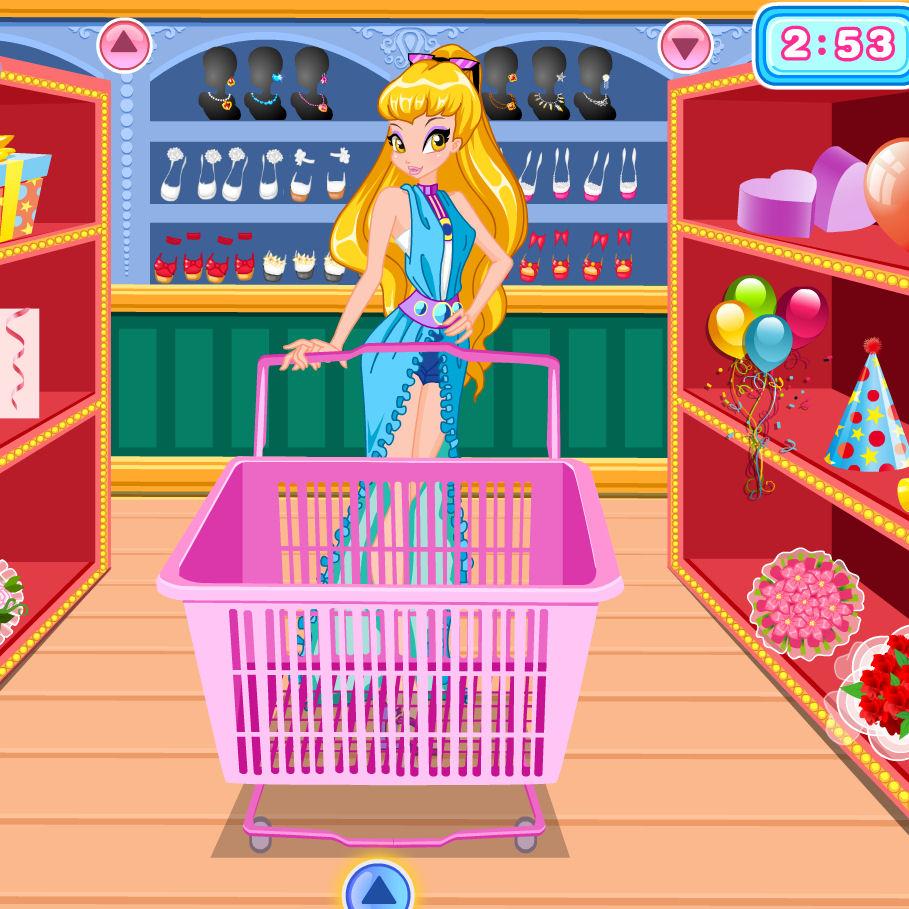 Juego de comprar con Stella de las Winx | Juegos