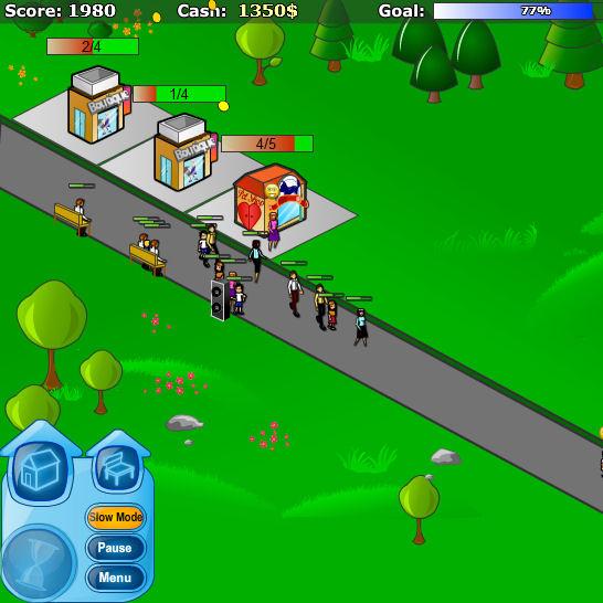 juego construir tiendas
