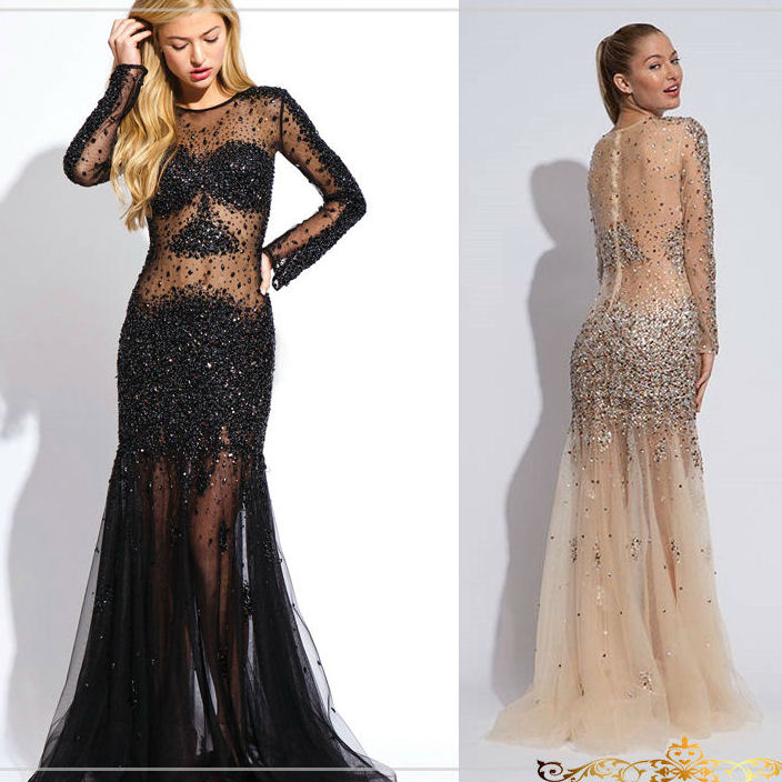 vestidos noche