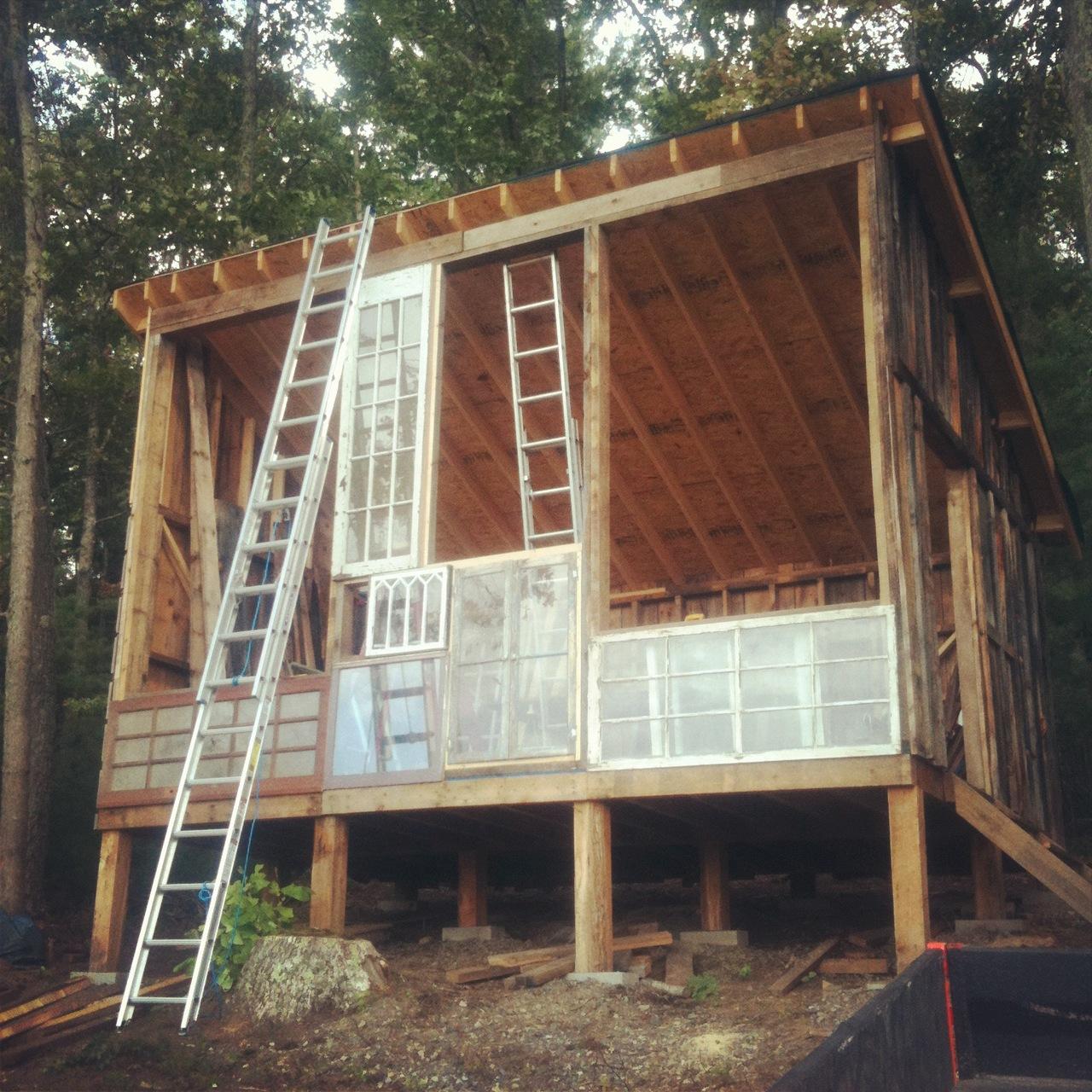 construir casa madera