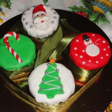 cupcake navidenos