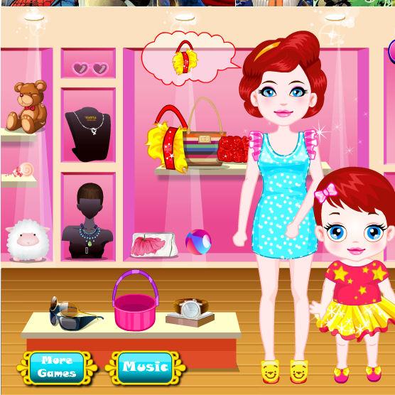 juego compras tienda moda