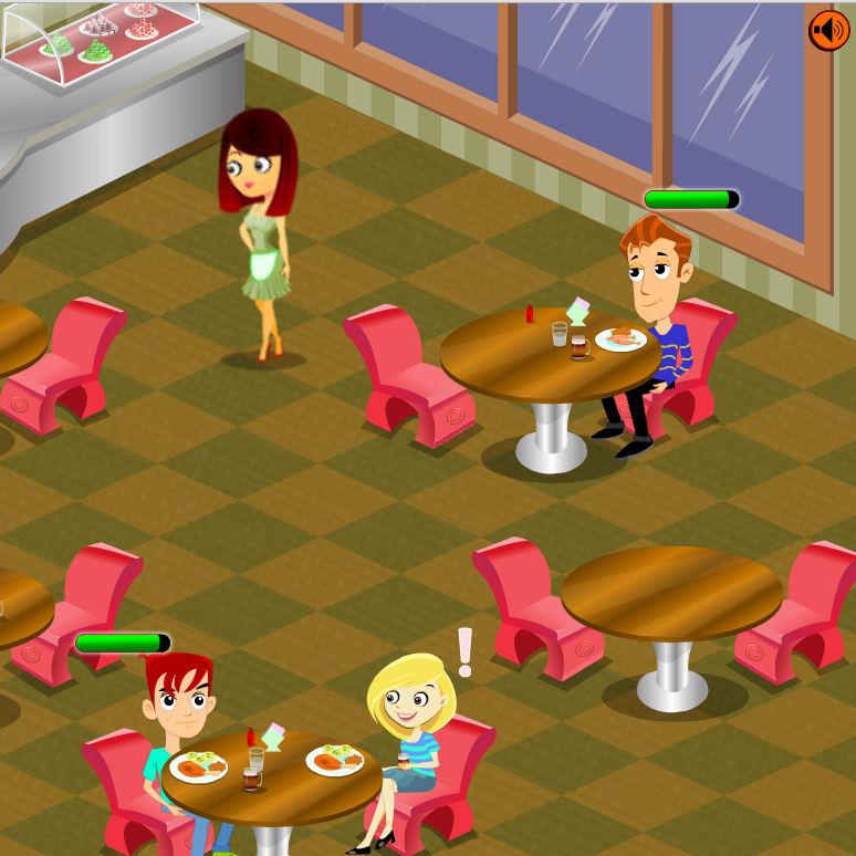 juego ganar dinero camarera