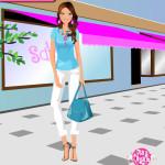Juego de ropa shopping