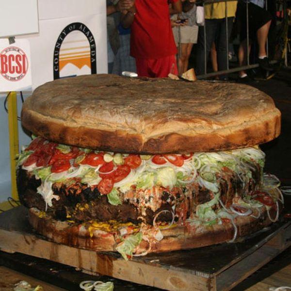 hamburguesa gigante
