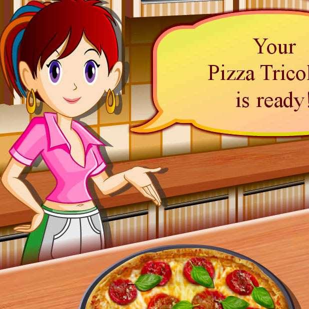 juego cocinar pizza tomate