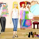 Juego de vestir para ir de compras