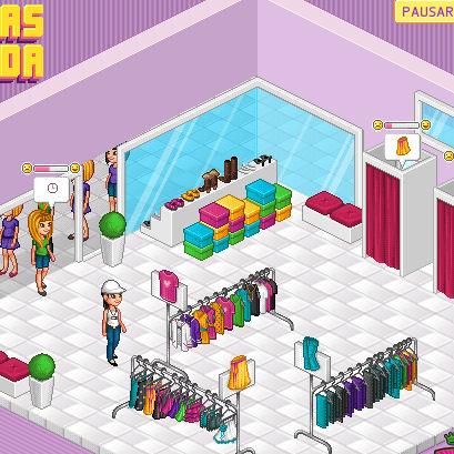 juego vender moda ropa