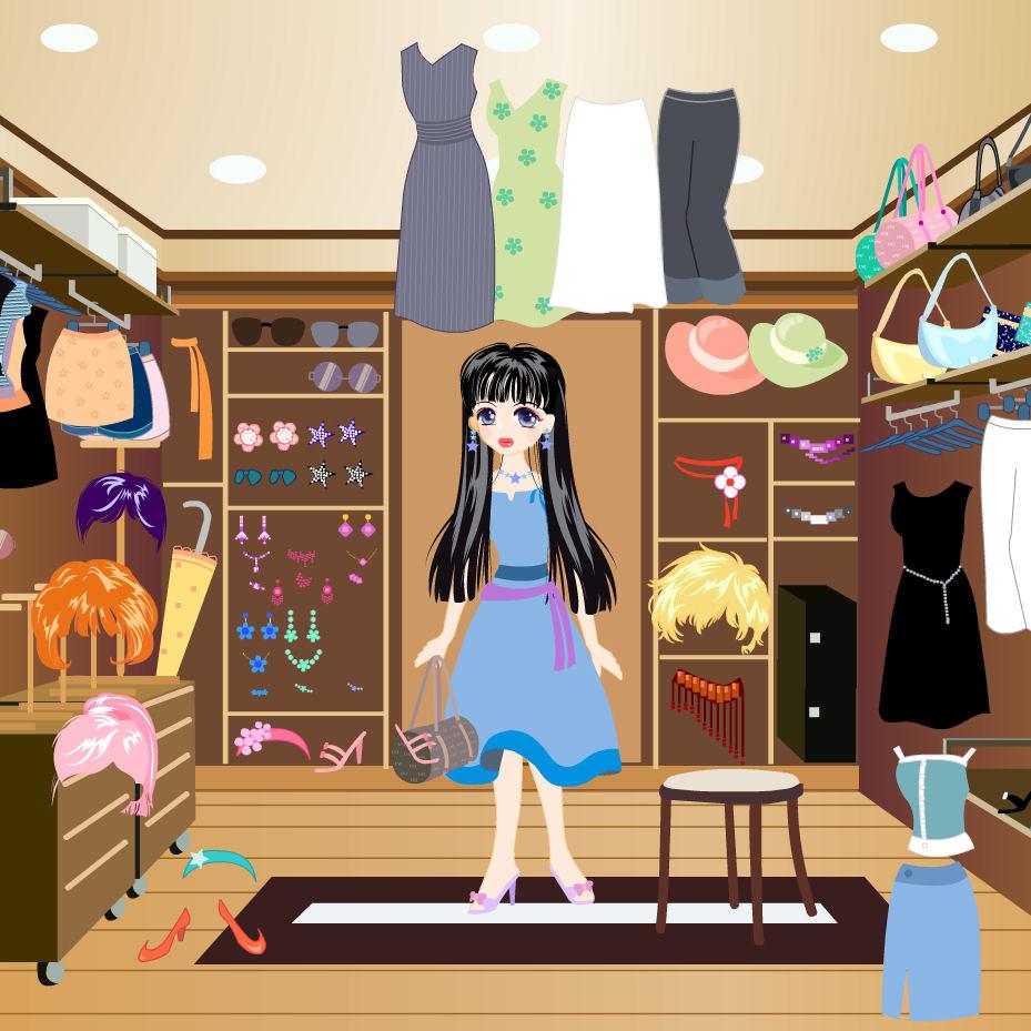 juego vestir tienda