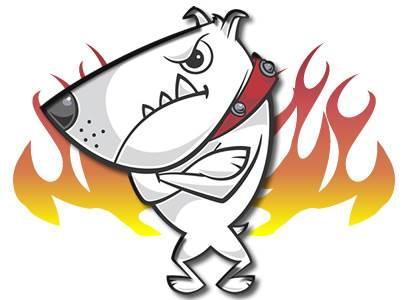 perro fuego