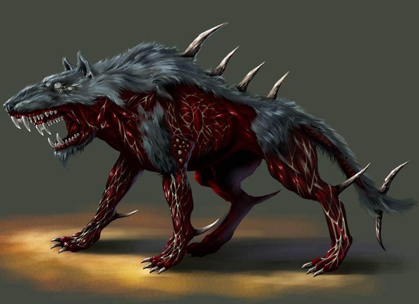 perro mutante