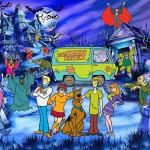 Juego para decorar escenarios de Scooby Doo