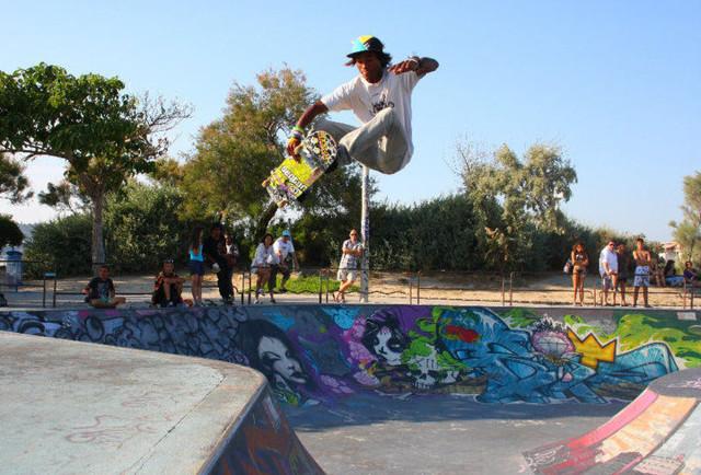 skateboard urbano