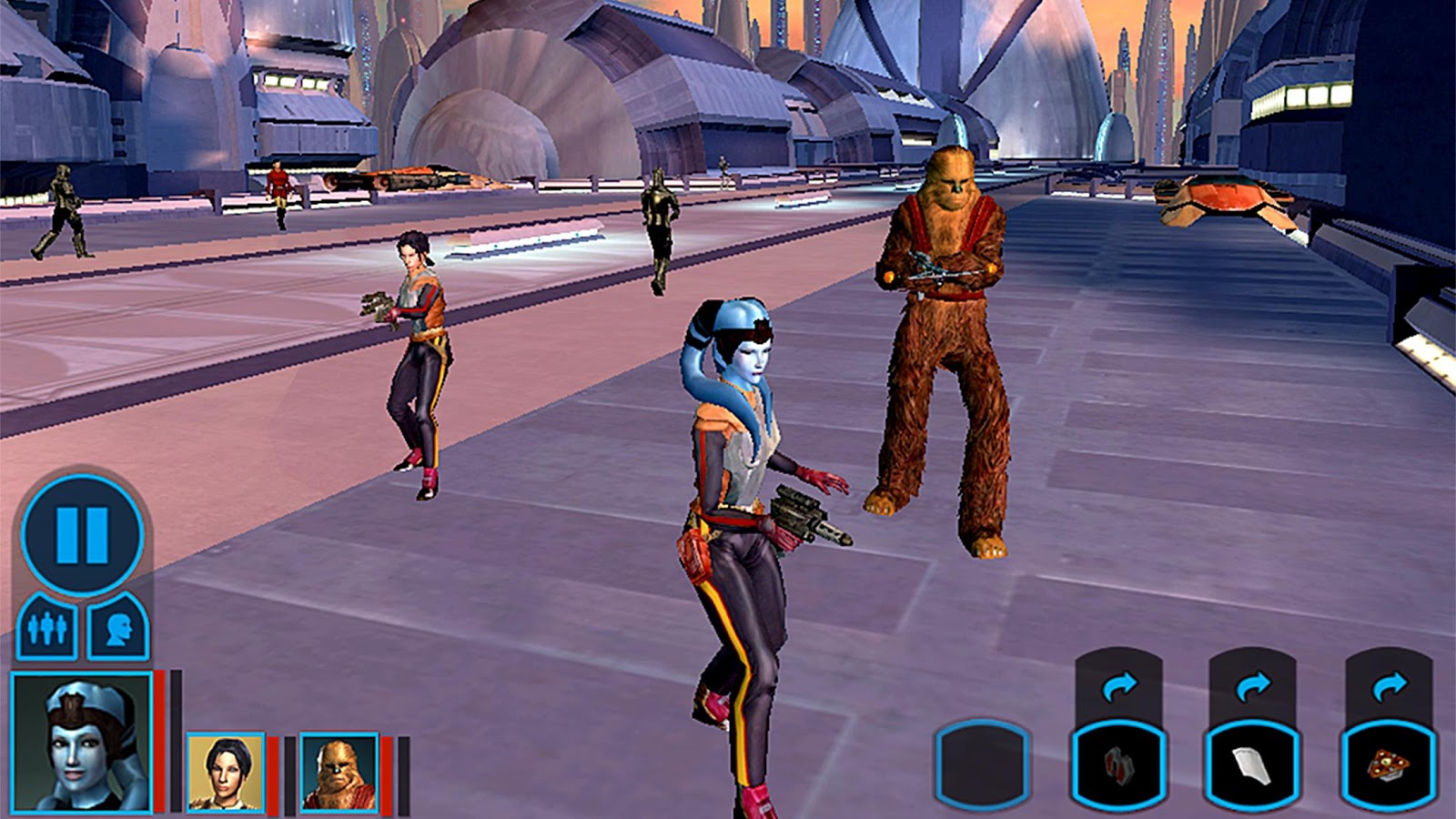 Star Wars Knights of the Old Republic android