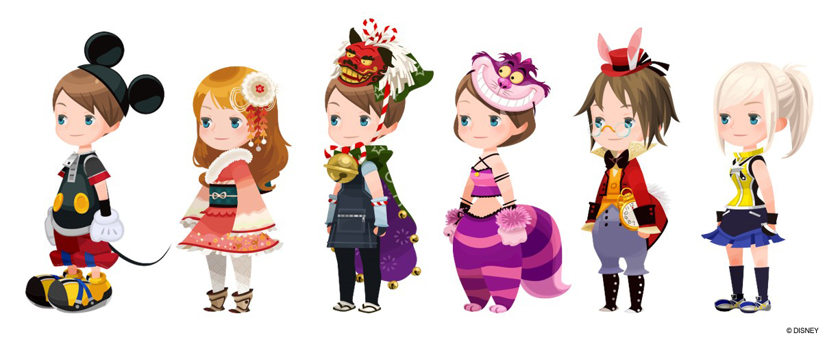 kingdom hearts unchained chi personajes