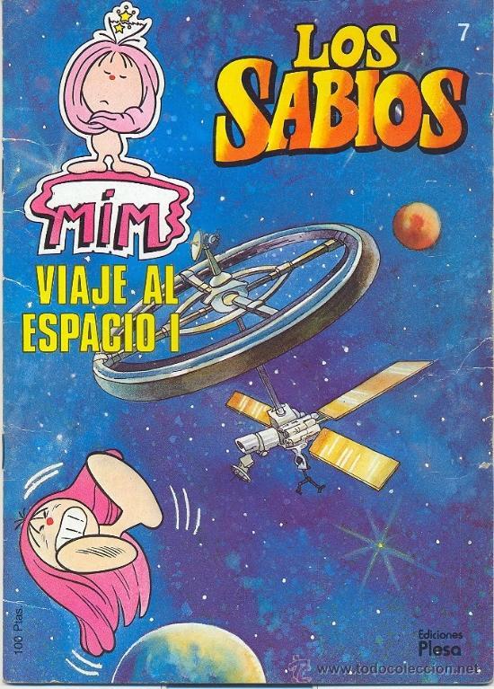 los sabios 7 viaje al espacio