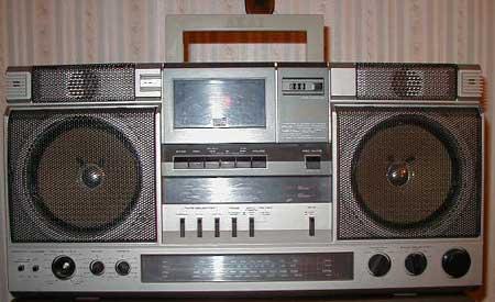 radiocasette 80s Akai